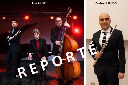 Report concert du 21 novembre 2020
