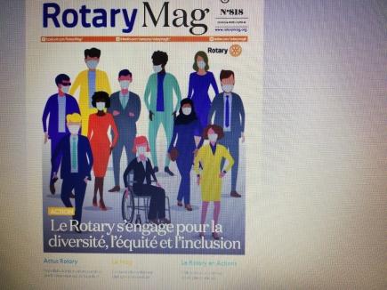 Je vous transmets le condensé du contenu du dernier Rotary Mag établi par Alain Pujol.