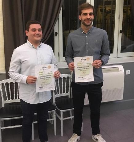 Benjamin BITAUD et Baptiste BARBOTEAU  - Delicious Terroirs - Lauréats CPAJ 2019-2020