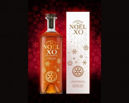Le cognac de Noël du Rotary Club de Cognac - L'abus d'alcool est dangereux pour la santé, à consommer avec modération.
