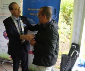 Officialisation du club satellite Rotary Bordeaux Lac
